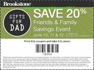 Brookstone coupons february