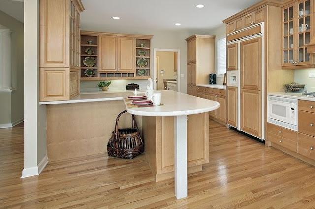 Wnętrzarska klasyka, czyli drewno w kuchni