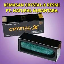 ciri crystal x asli nasa