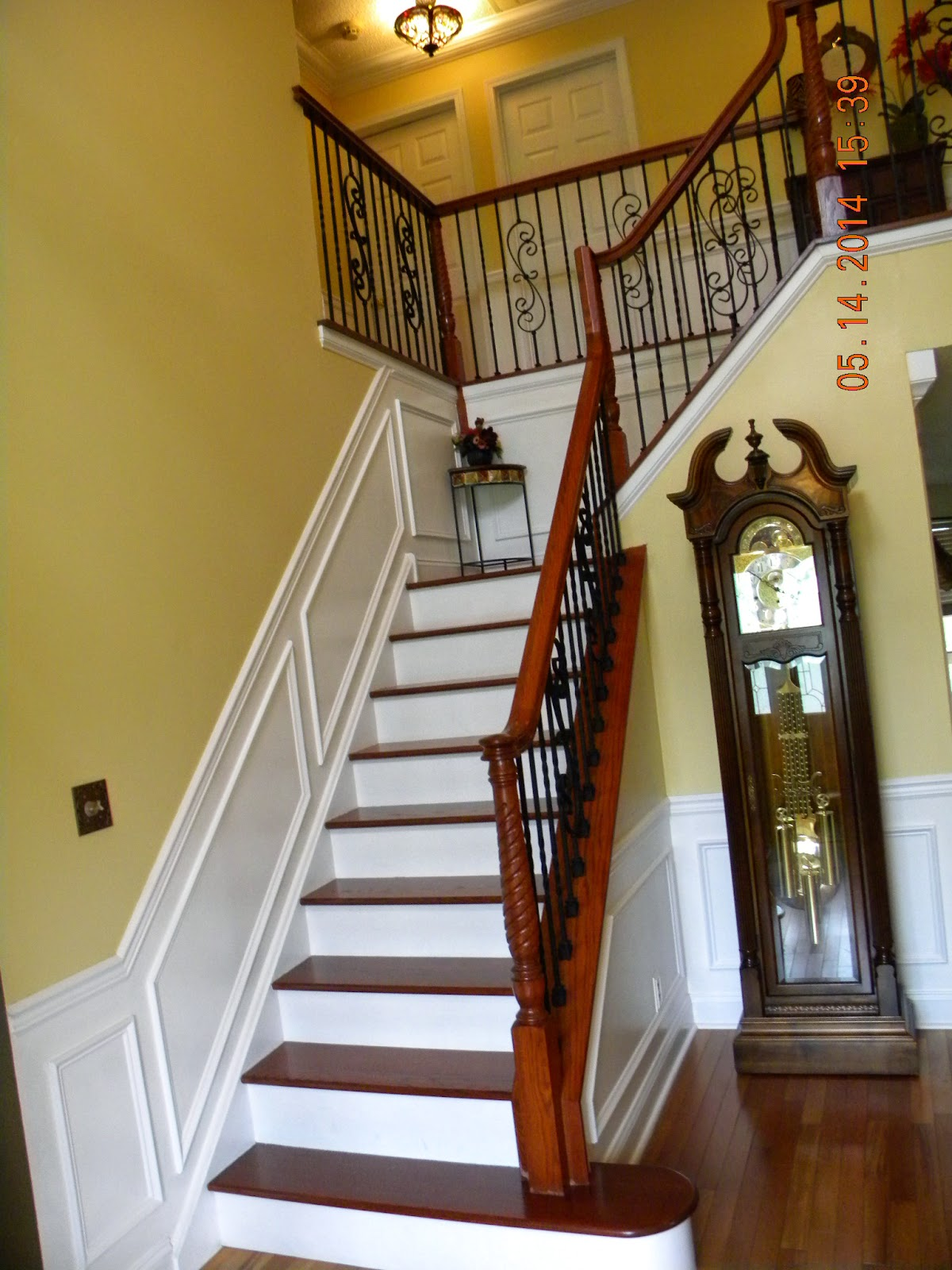 Wood Stairs and Rails and Iron Balusters: Iron Baluster ...