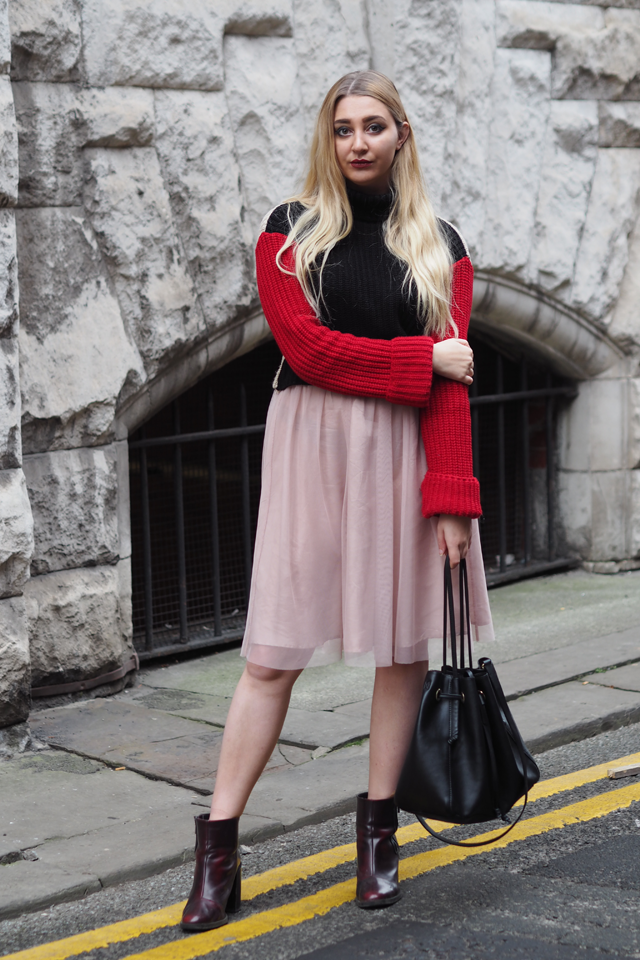 how to wear tulle skirt fashion blog