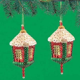 http://www.christmascraftcollection.com/2012/11/lanterns-sequin-beaded-ornaments.html