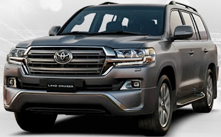 Harga Pontianak Toyota Land Cruiser Gray Metallic