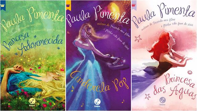 Resultado de imagem para livros paula pimenta princesas