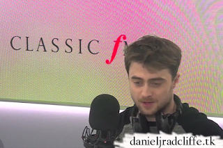 Daniel Radcliffe on Classic FM