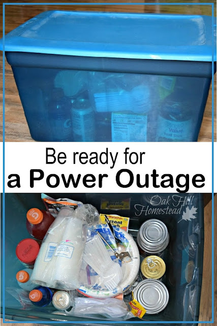 Put together a kit and make a plan so you'll be prepared when the power goes out.