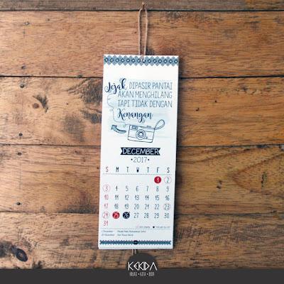 Harga Promosi Kalender Cuti 2017 By Kekida 3