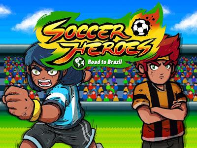 Pada kesempatan kali ini saya akan membagikan kepada sahabat semuanya sebuah game android t Unduh Game Soccer Heroes RPG v1.2.1 Mod Apk