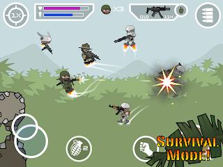 Doodle Army 2 Mini Militia Mod Apk Unlimited Nitro Gas