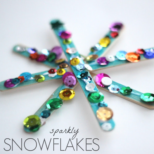 snowflake crafts for kids toddler approved sparkly snowflake craft for 5447