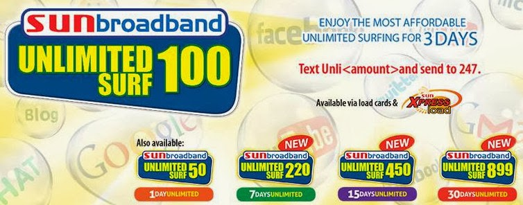 Sun Broadband Unlimited Surf