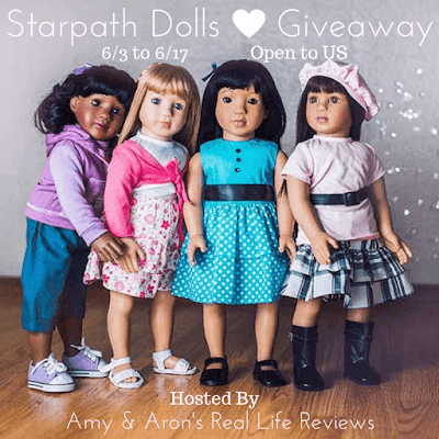 "Enter the Starpath Dolls 18.5"" Doll Giveaway. Ends 6/17"