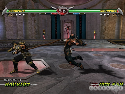 Mortal Kombat: Deception (PS2) 2004