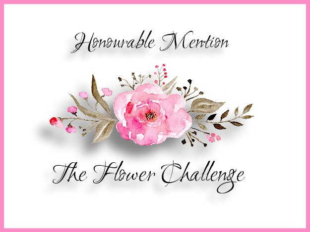 Honorable Mention The Flower Challenge
