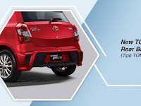 Harga dan Fisik : Rear Bodikit Toyota Etios Valco Toms Edition