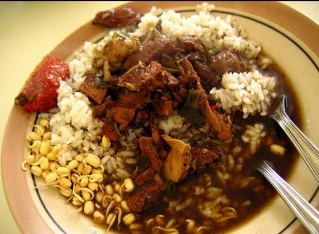 Nasi Rawon Beef Black Soup