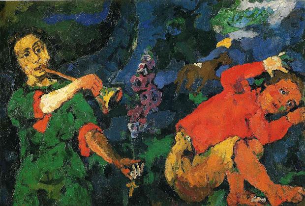 Oskar Kokoschka Paintings