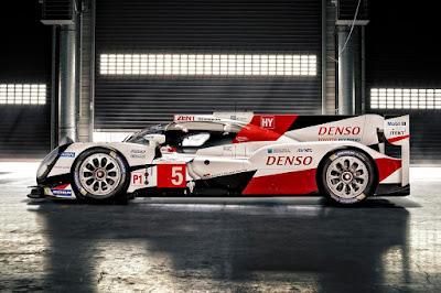 Toyota TS050 Hybrid LMP1 2016 Side