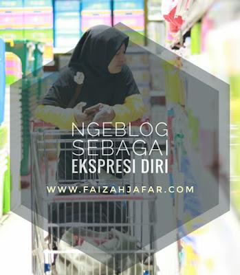 Ngeblog sebagai ekspresi diri