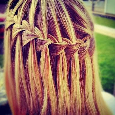 Peinado Para Ninas Peinados Con Trenzas Y Pelo Suelto Trenzas Con - Peinados-con-trenzas-y-pelo-suelto
