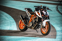Super Duke Waiting to thrash