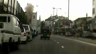 Video del momento exacto de los atentado llevado acabo en Sri Lanka