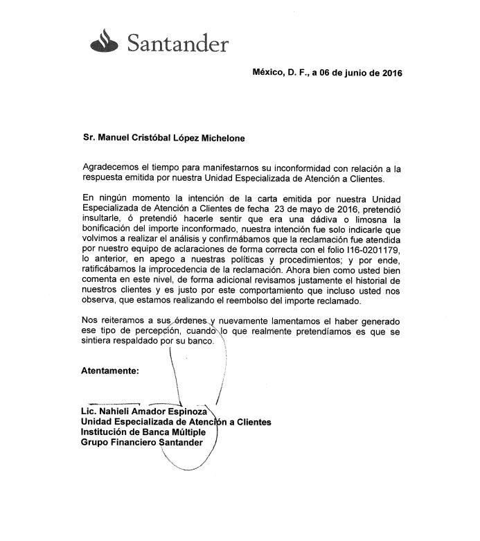 Blog de la morsa respuesta del banco santander a mi queja for Banco santander mas cercano a mi ubicacion