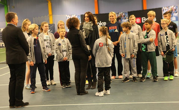 Crown Princess Mary At Children's Aid Day Tennis Event