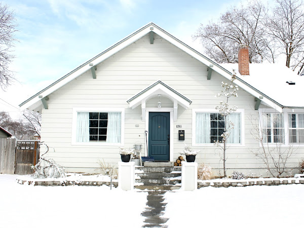 Our Cottage in the Snow