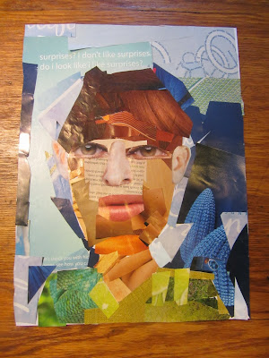Abstract Self-Portrait Art Tutorial-The Unlikely Homeschool