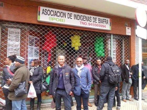 IPOB Opens Biafra Embassy In Spain, Vows to Set Up More In Washington DC, California, India, others