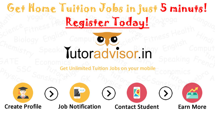 Tutor Advisor - Best Home Tutors and Tuition Jobs in Town ... on bring jobs home, full-time jobs home, fulfilling jobs home, jobs money, work at home, jobs at home, jobs family,