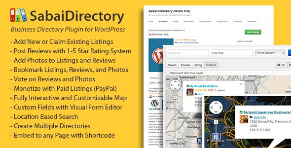 Sabai Directory for WordPress v1.4.1