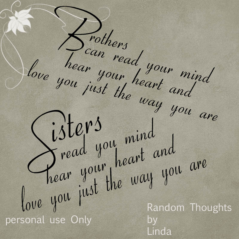 Brother And Sister Quotes And Sayings. QuotesGram