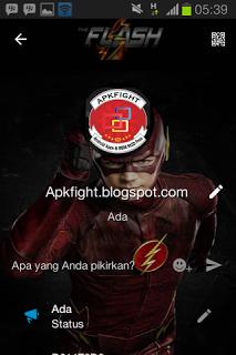 BBM Mod Tema The Flash v2.13.1.14 Apk Terbaru