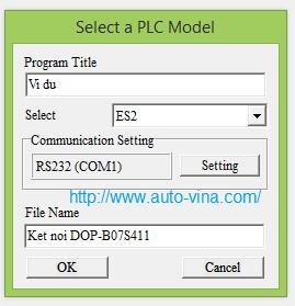 Tạo file hướng dẫn lập trình PLC Delta