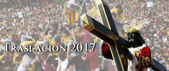 Feast of the Black Nazarene Translacion 2017