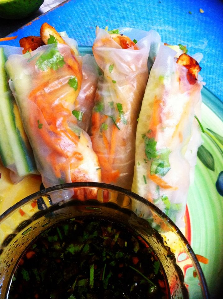 Fascination Creation Powered By Food Teriyaki Chicken Rice Paper Rolls