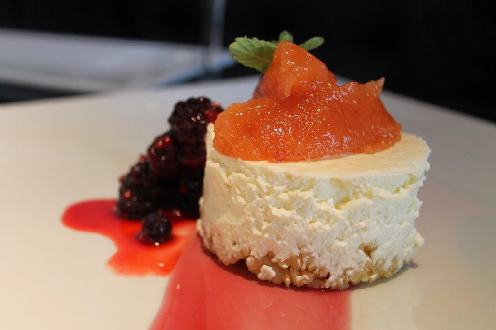 Chile cheese dessert