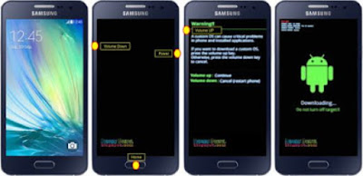 Download mode Samsung Galaxy A5 SM-A500F