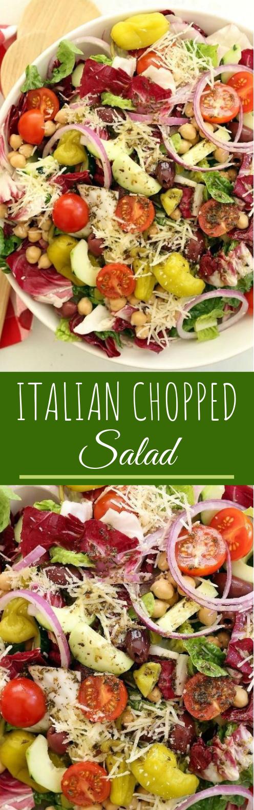 Italian Chopped Salad #healthy #sidedish