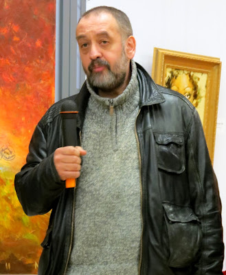 Матвей Вайсберг (топ-3): мы со Славой соседи по мастерской, он талантливый и очень трудолюбивый художник...