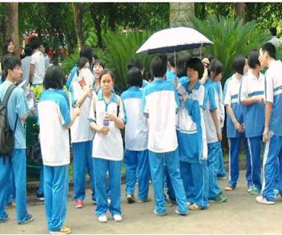 الزي المدرسي في الصين