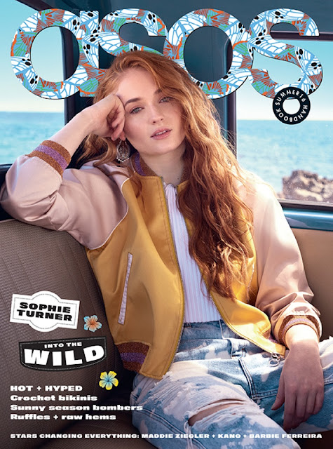 Actress, @ Sophie Turner - Asos US, Summer 2016