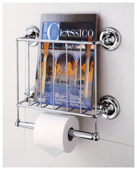 Wall-Mounted Magazine Rack Available at Walmart and Overstock.com