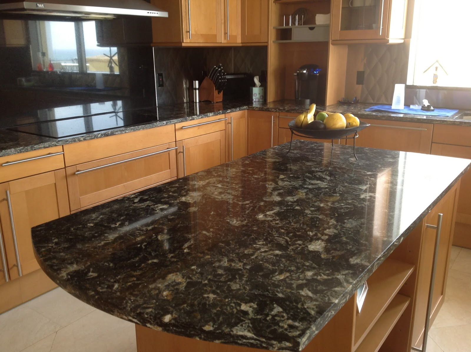 Kb factory outlet cost of granite countertops vs man Granite kitchen countertops pictures
