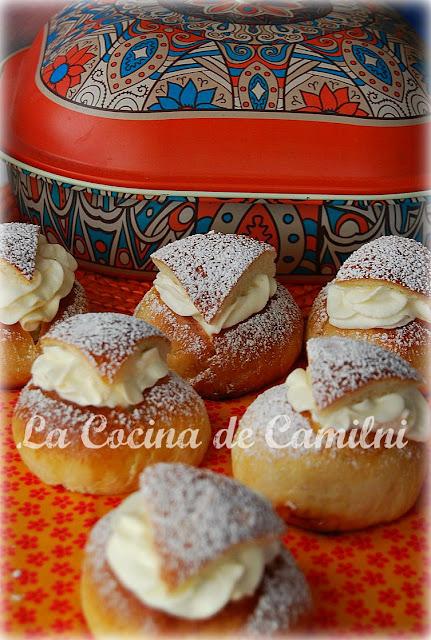 Semlor o Semla (La cocina de Camilni)