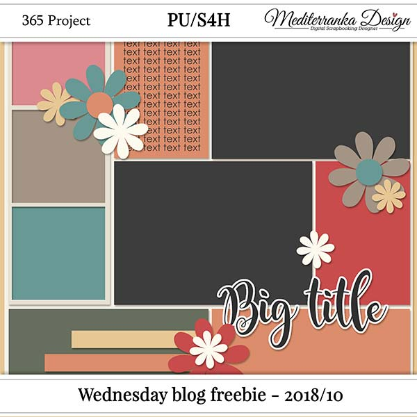 WINNER + WEDNESDAY BLOG FREEBIE - 2018/10