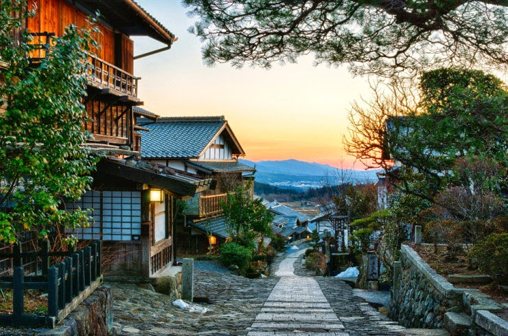 3. The Nakasendo Highway, Japan - 29 Most Romantic Alleys to Hike