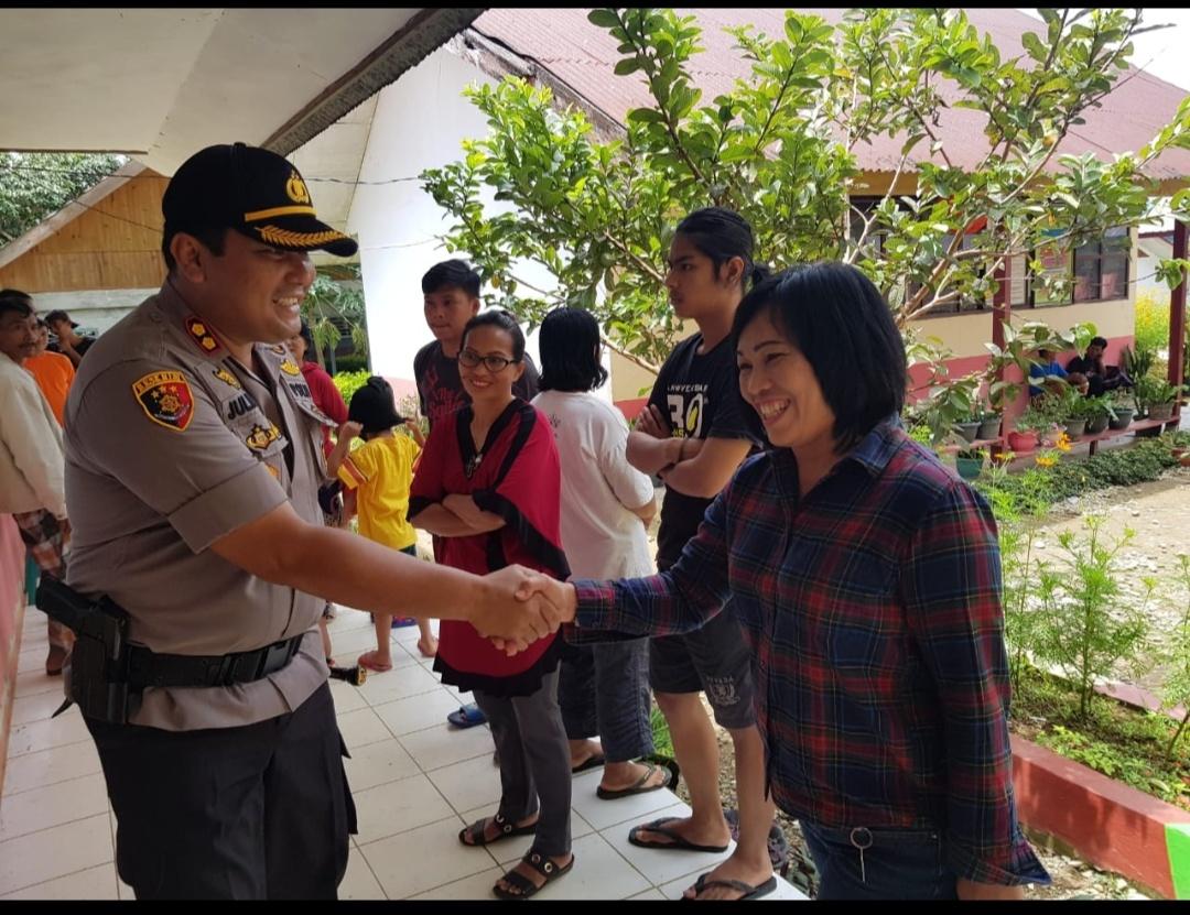 Forkopimda Toraja Utara Kompak Patroli Amankan TPS yang Rawan